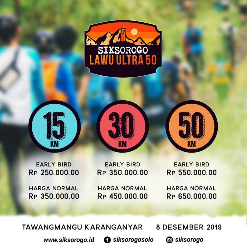 Siksorogo Trail Run 2019 kekunoan.com